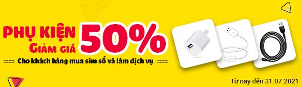Phụ kiện 50%