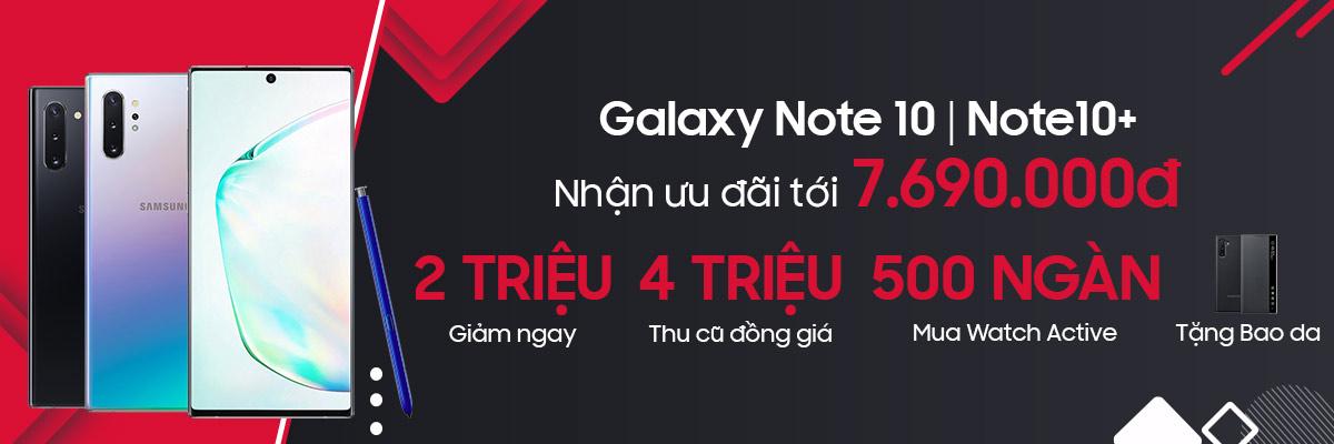 Samsung Galaxy Note10 Ưu đãi tới 7.690.000đ