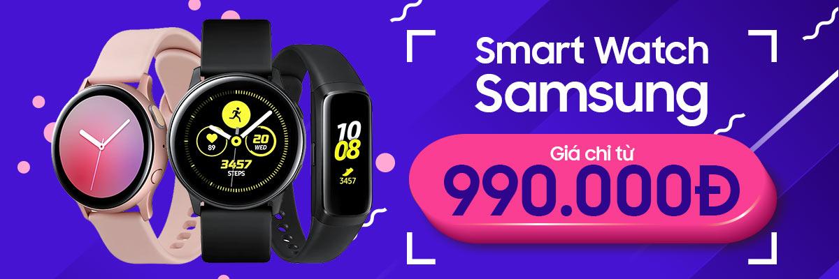 Tháng 5 sắm Samsung Galaxy Watch giá tốt