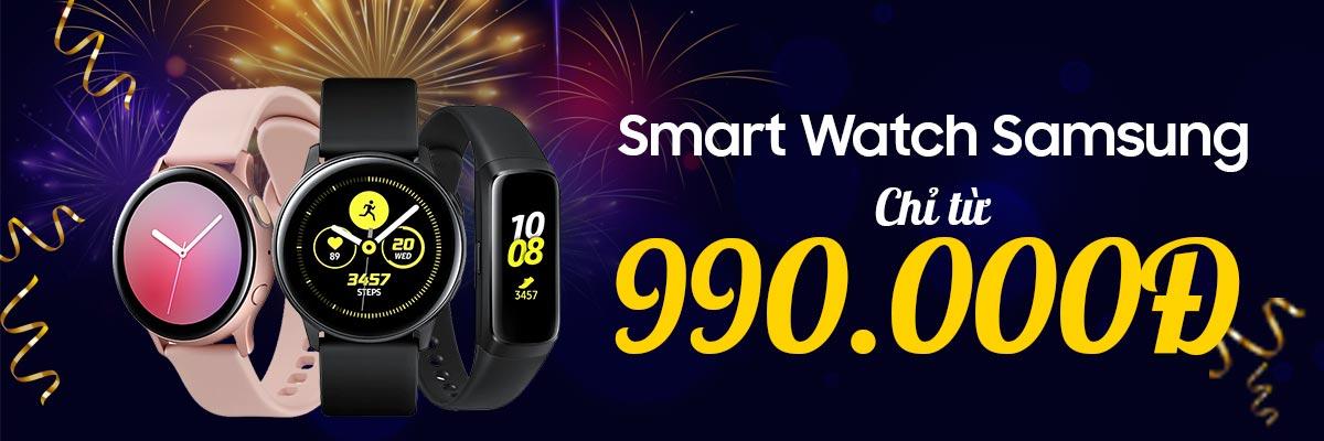 Năm mới sở hữu ngay Samsung Galaxy Watch giá tốt