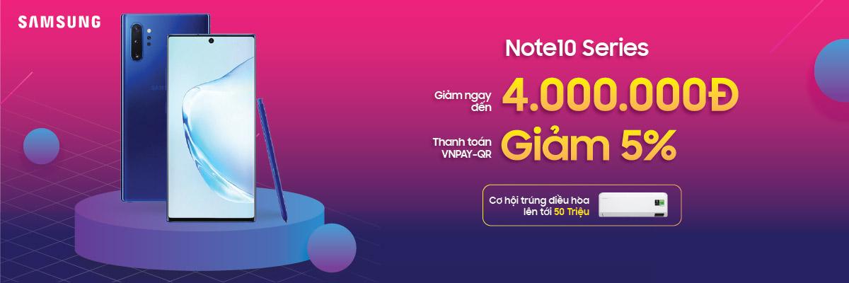 Samsung Galaxy Note 10 Giảm Đến 4 Triệu